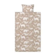 Ferm Living Katie Scott Nature Bedding Set - Sand - 100 x 140cm