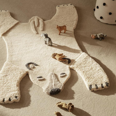 Ferm Living Animal Tufted Rug - Polar Bear