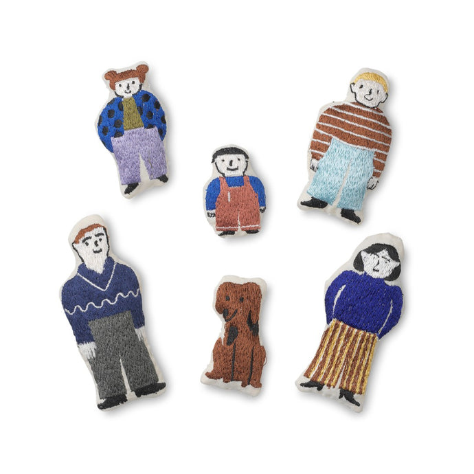 Ferm Living Funkis Doll Family