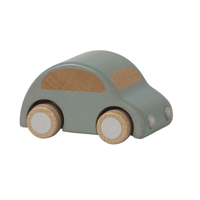 Maileg Wooden Toy Car - Blue
