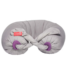 bbhugme Pregnancy Pillow - Stone/Plum