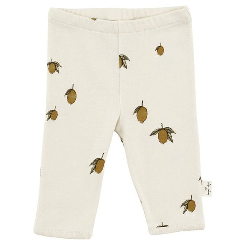 Konges Slojd Organic Baby Pants - Lemon | Soren's House