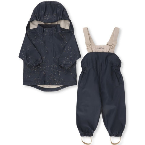 Konges Slojd Palme Rainwear Set - Navy Etoile Gold | Soren's House