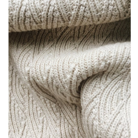Konges Slojd Organic Pointelle Blanket - Off-White