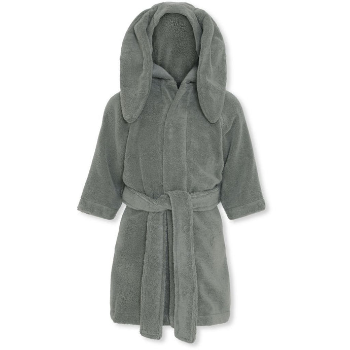 Konges Slojd Organic Terry Bathrobe - Storm Grey | Soren's House