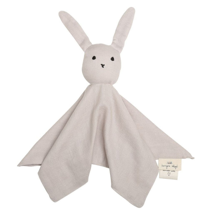 Konges Slojd Organic Sleepy Rabbit Comforter - Nimbus Cloud