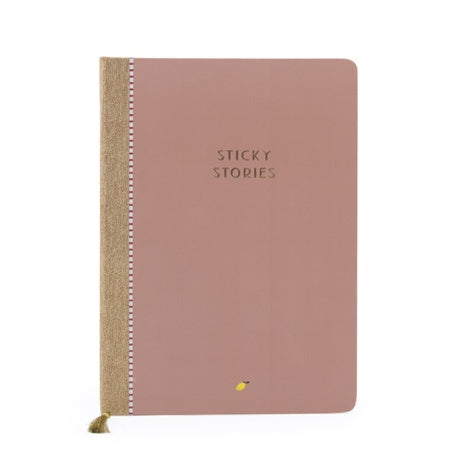 Sticky Lemon Notebook - Chocolat Au Lait Sticky Stories