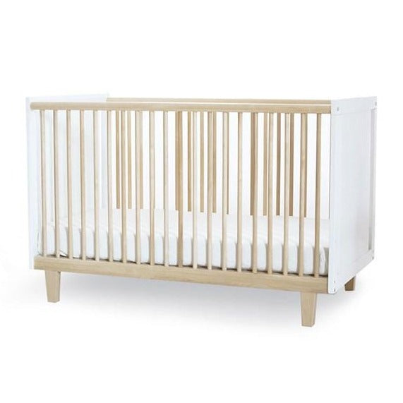 Oeuf NYC Rhea Cot Bed - White & Birch
