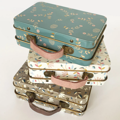 Maileg Mini Metal Suitcase - Merle Dark