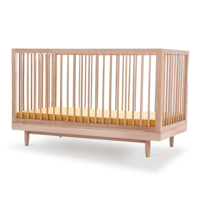 Nobodinoz Pure Cot Bed In Oak - 70 x 140cm