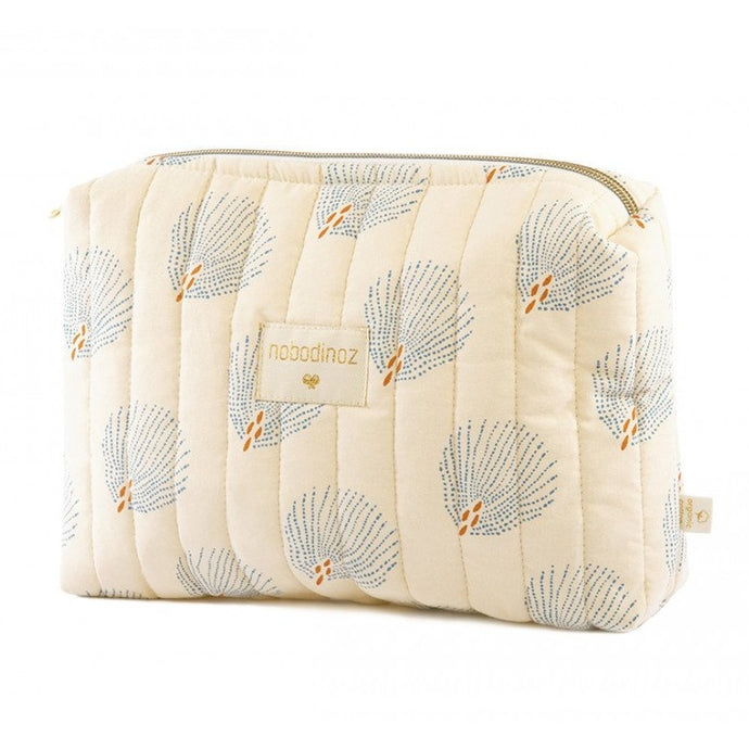 Nobodinoz Travel Vanity Case - Blue Gatsby/Cream
