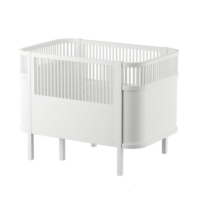 Sebra Baby & Junior Bed - Classic White