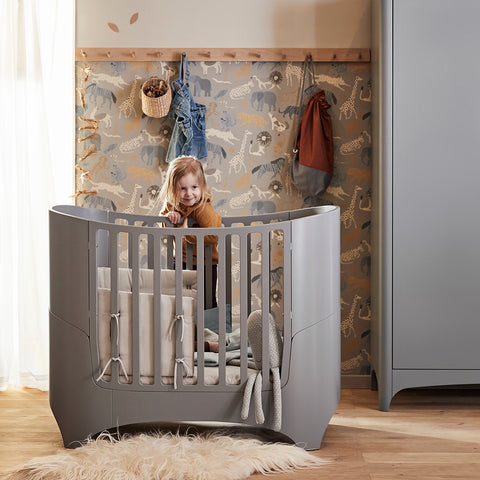 Leander Classic Baby Cot & Junior Bed - Grey