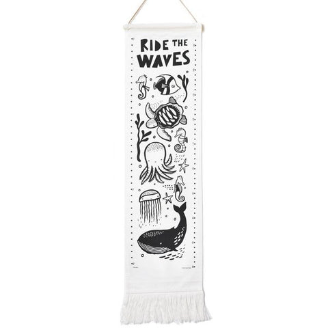 Wee Gallery Growth Chart - Ocean (FREE DELIVERY)