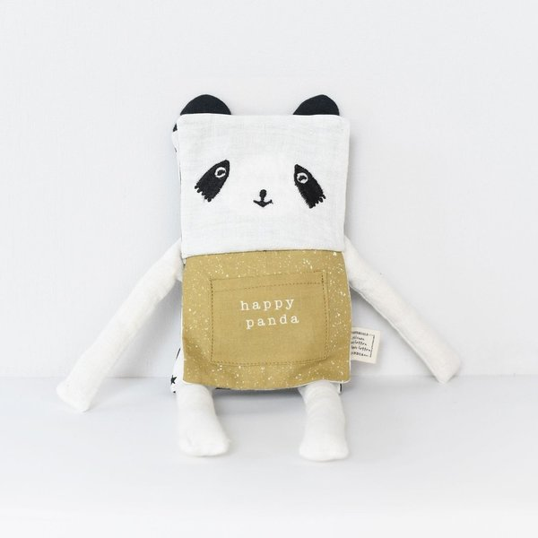 Wee Gallery Organic Flippy Friend - Panda (FREE DELIVERY)