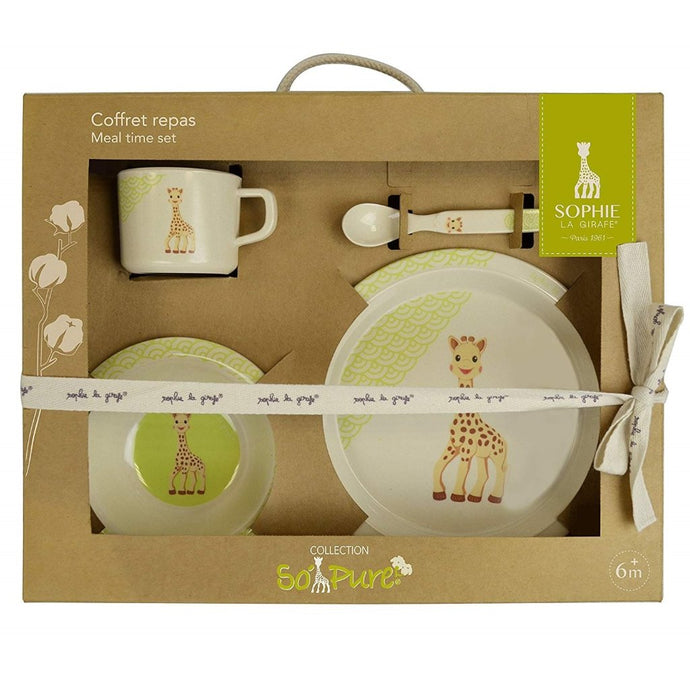 Sophie The Giraffe 'So Pure' Bamboo Meal Set