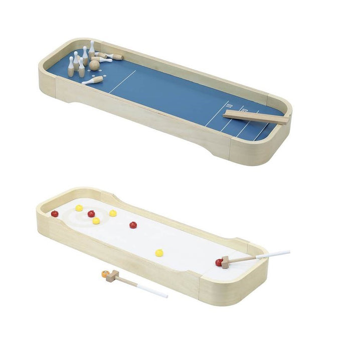 Vilac Grand Bowling & Curling Game - 2-in-1