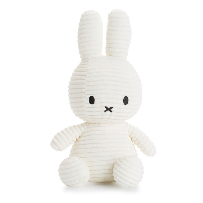 Miffy Corduroy Soft Toy - 24cm White | Soren's House