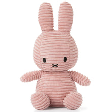 Miffy Corduroy Soft Toy - Large 33cm Pink