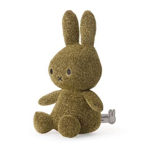 Miffy Glitter Gold Soft Toy - 24cm