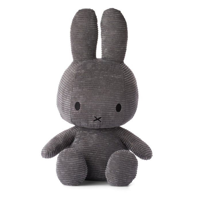 Miffy Corduroy Soft Toy - Extra Large 50cm Grey