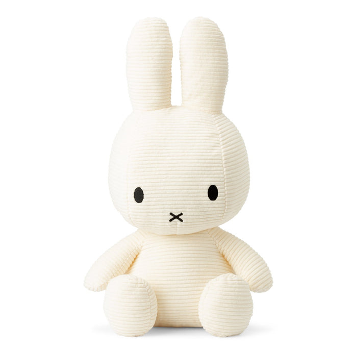 Miffy Corduroy Soft Toy - Extra Large 50cm White