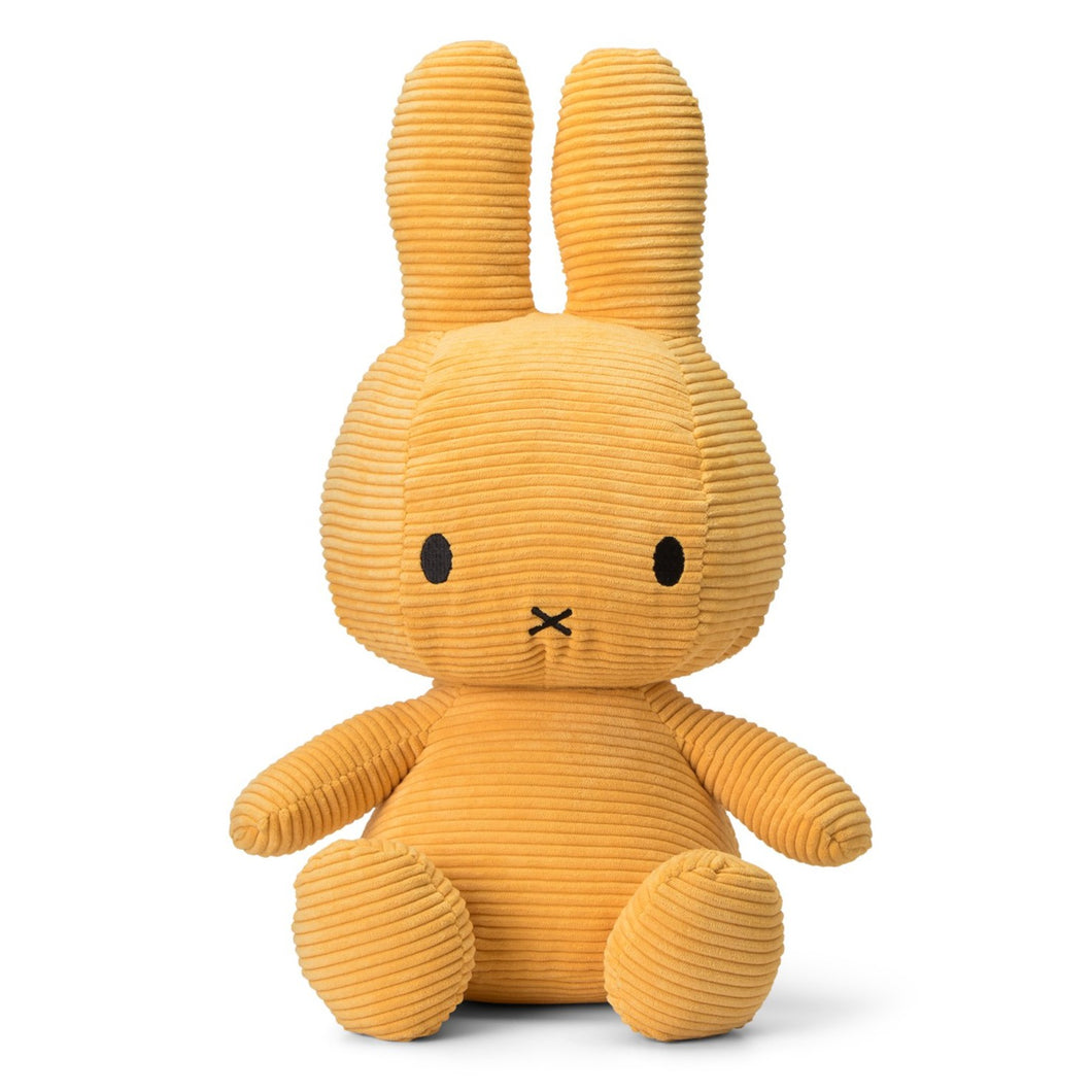 Miffy Corduroy Soft Toy - Extra Large 50cm Yellow