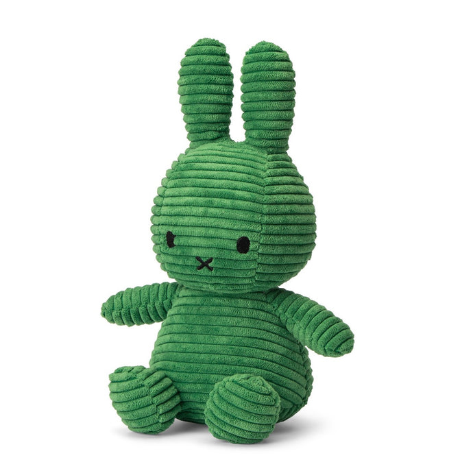 Miffy Corduroy Soft Toy - 24cm Spring Green