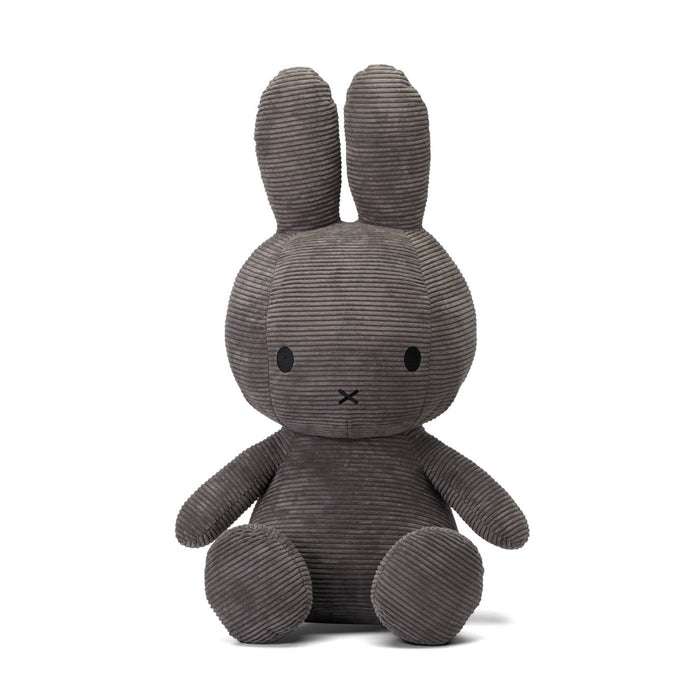 Miffy Corduroy Soft Toy - Mega 70cm Grey