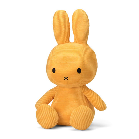 Miffy Corduroy Soft Toy - Mega 70cm Yellow