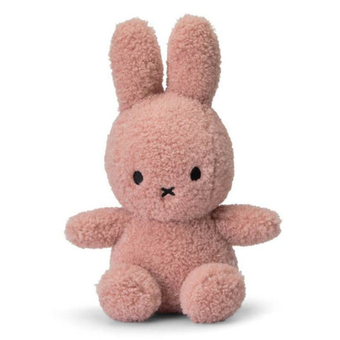 Miffy 'Teddy' Soft Toy - 23cm Pink (100% Recycled)