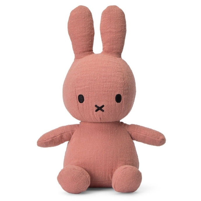 Miffy Mousseline Soft Toy - 23cm Pink