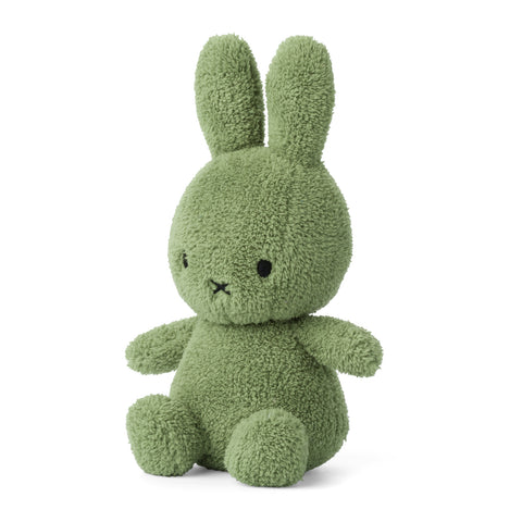 Miffy Terry Soft Toy - 23cm Jungle Green