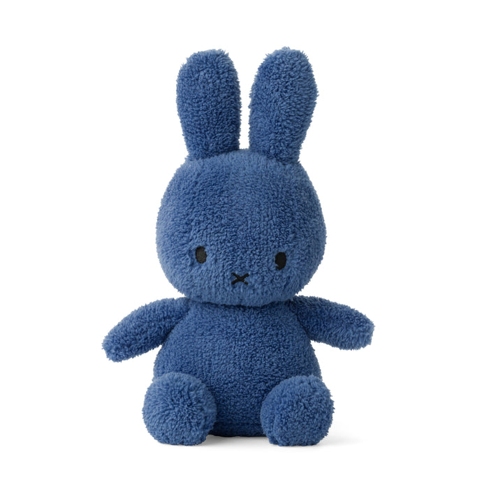 Miffy Terry Soft Toy - 23cm Aviator Blue