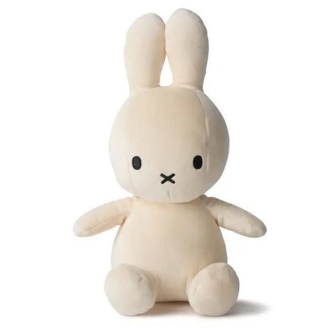 Miffy Velvetine Soft Toy - 23cm Cream