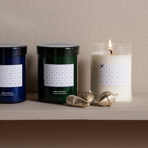 Ferm Living Scented Candle Christmas Calendar - Cinnamon White