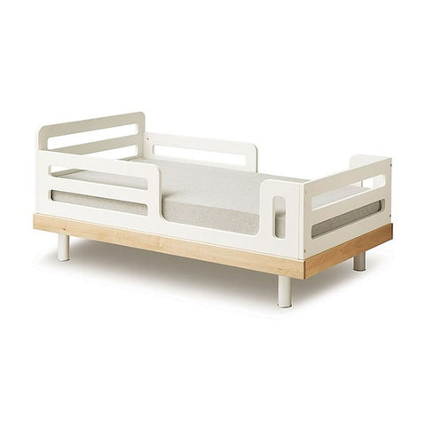 Oeuf NYC Classic Cot Bed - White & Birch