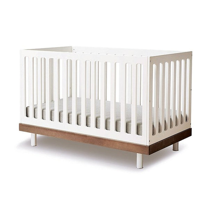 Oeuf NYC Classic Cot Bed - White & Walnut