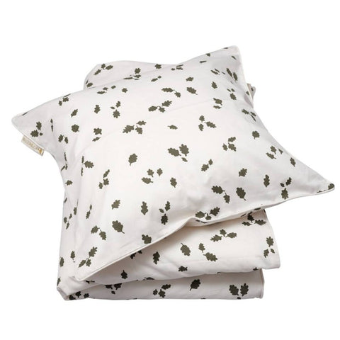 Fabelab Children's Bedding Set (140 x 200cm) - Leaves