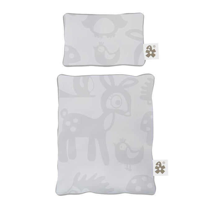 Sebra Doll's Bedding - Forest Grey