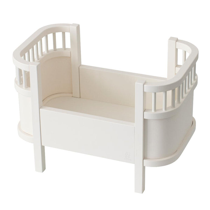 Sebra Doll's Bed - White