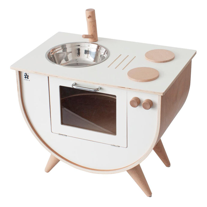 Sebra Wooden Play Kitchen - White