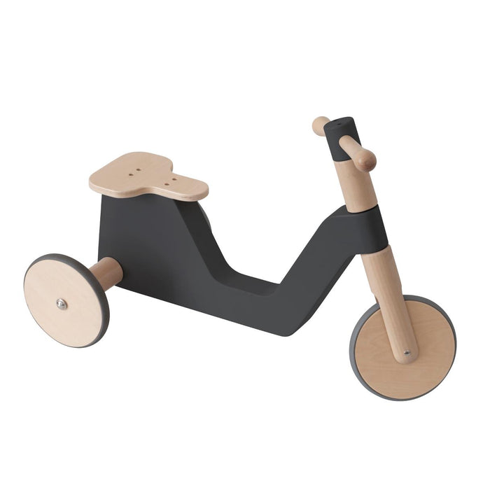 Sebra Wooden Scooter - Black