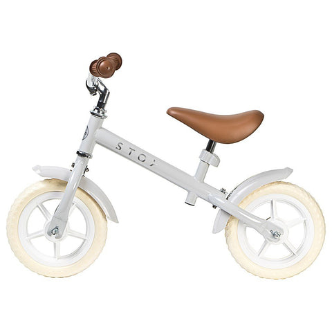 "STOY 10"" Balance Bike - Vintage Light Grey"