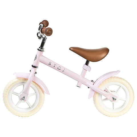 "STOY 10"" Balance Bike - Vintage Light Pink"