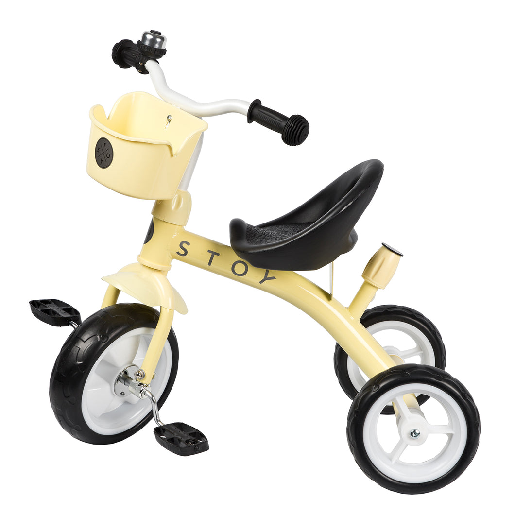 STOY Tricycle - Light Yellow