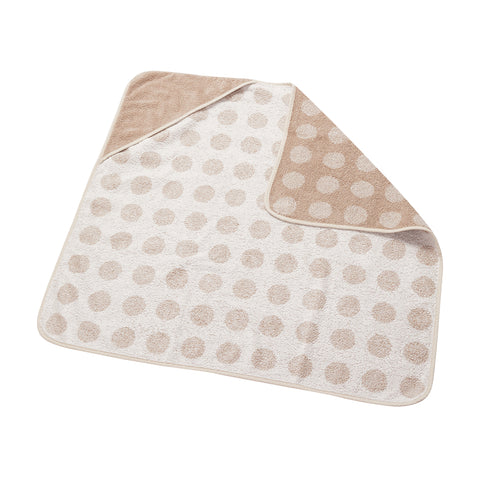 Leander Organic Hooded Towel - Cappuccino