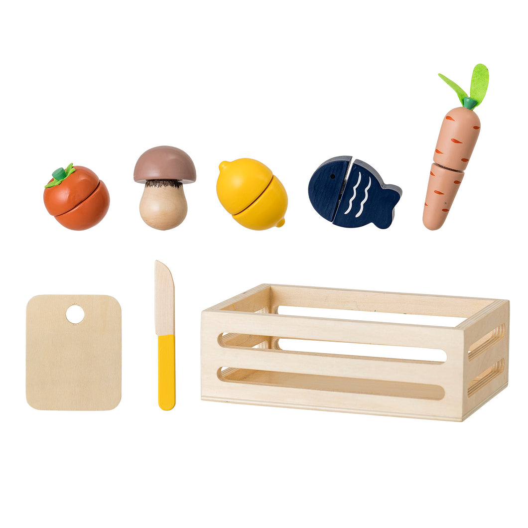 Bloomingville Wooden Toy Food Set