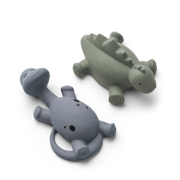 Liewood Algi Bath Toys 2-Pack - Blue Mix