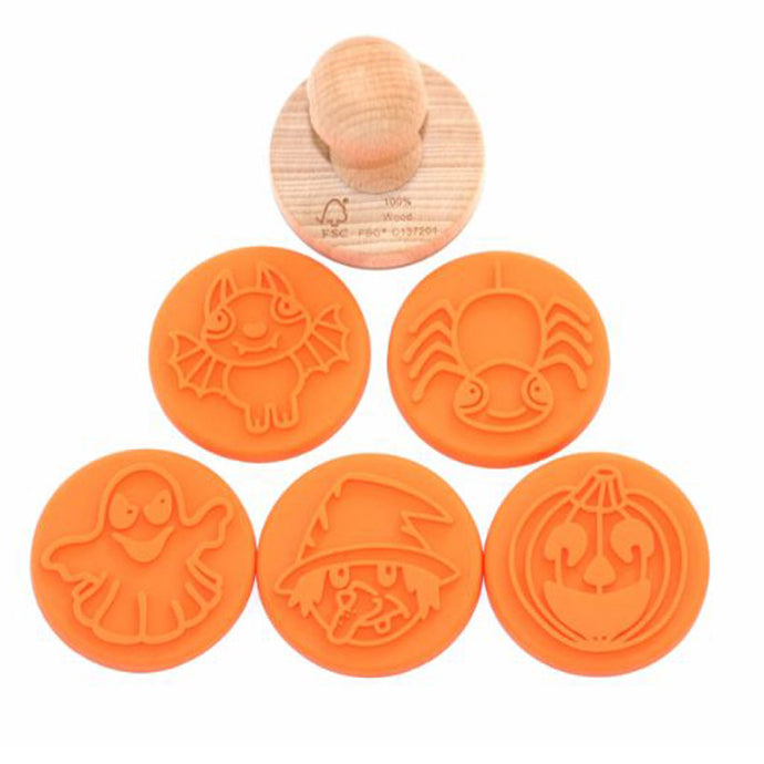 Ailefo Modelling Clay Stamps - Set of 5 - Halloween Stories